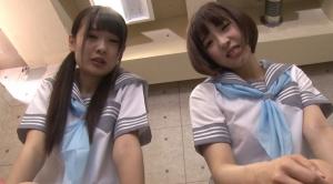 2人の可愛い女子校生に罵倒されながらのセンズリ