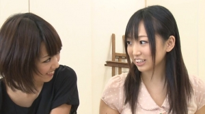 女子大美術部の美人2人がヌードモデルのボクをいじくってみようか相談中