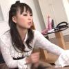 美人秘書の手コキ